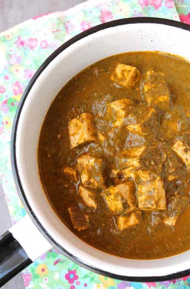 Palak Tofu