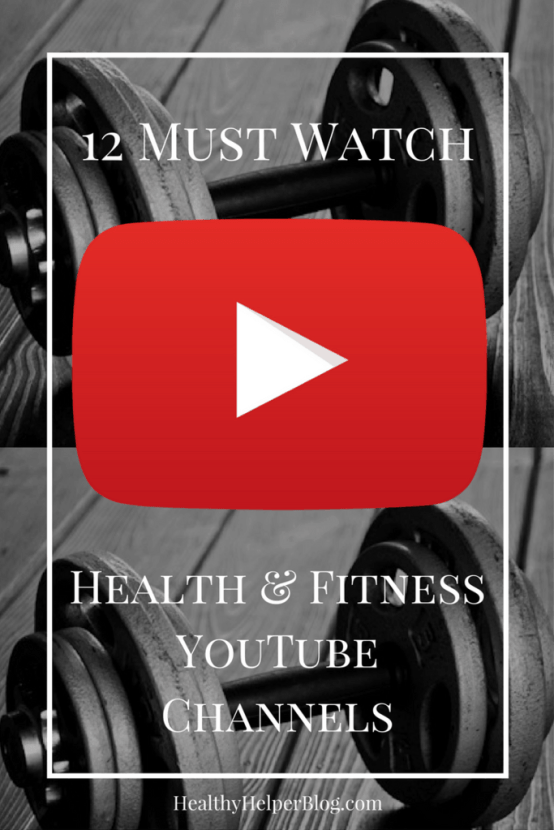 12 MUST WATCH Health and Fitness YouTube Channels | Healthy Helper @Healthy_Helper Looking for a new food, fitness, body image, and health inspiration? Then you must check out this roundup of MUST WATCH health and fitness YouTube channels. Entertaining, informational, and fun to follow!