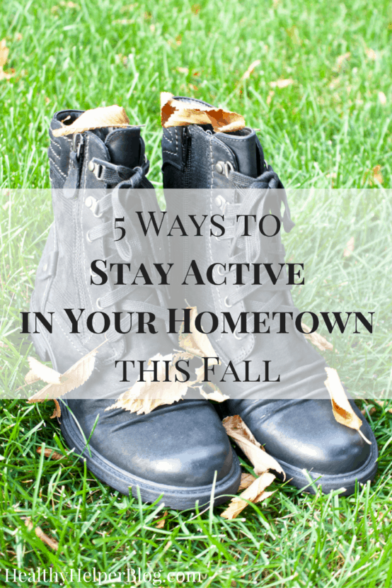 5 Ways to Stay Active in Your Hometown this Fall | Healthy Helper @Healthy_Helper A roundup of fun fall activities for your family and friends to do this season! Stay active, stay healthy, and enjoy this time of year for all it has to offer.
