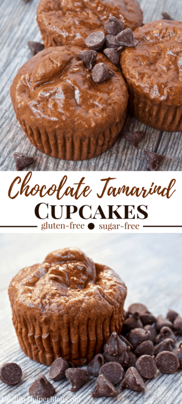 Chocolate Tamarind Cupcakes | Healthy Helper @Healthy_Helper A cupcake flavor doesn't get any more unique than this! Sweet and chocolatey with a little savory heat. Nothing compares to these fluffy n' light cupcakes. Gluten-free, made with whole grains, and super high in protein! They make a great snack or healthy dessert for the sophisticated palate!