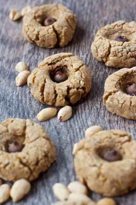 Vegan Peanut Butter Blossom Cookies | Healthy Helper @Healthy_Helper