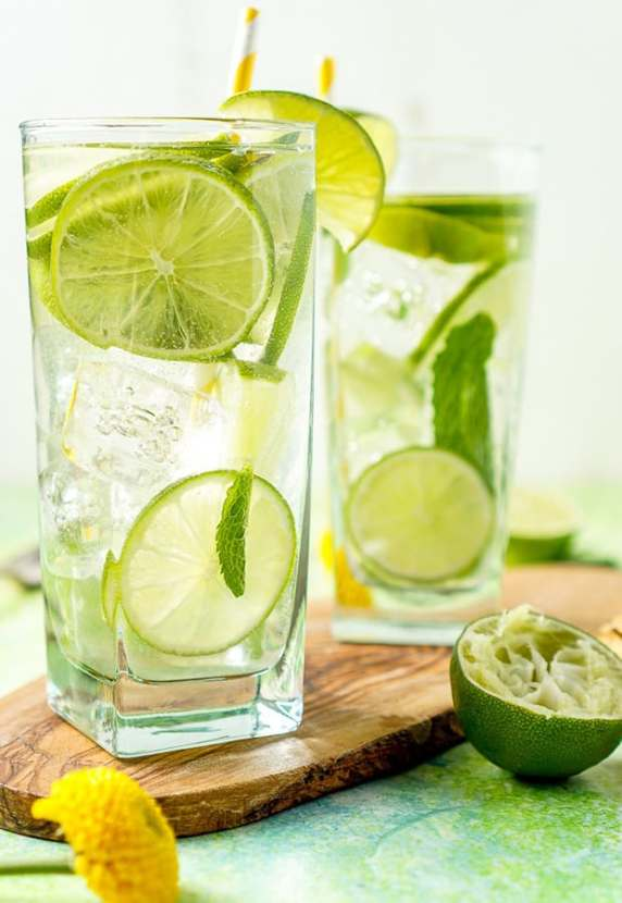 Mojito Water | Healthy Helper @Healthy_Helper