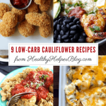 9 Low-Carb Cauliflower Recipes