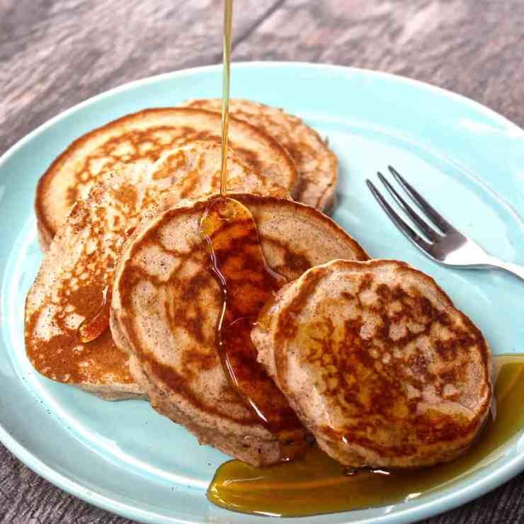 The BEST EVER Gluten-Free Pancakes | Healthy Helper @Healthy_Helper