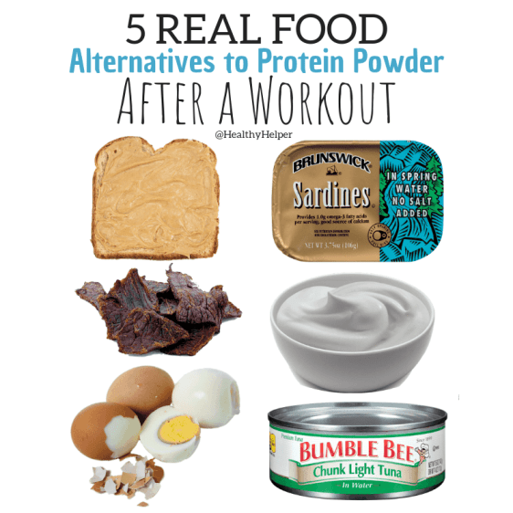5 REAL FOOD Alternatives to Protein Powder After a Workout | Do you immediately supplement with protein powders after a workout? STOP. Next time, reach for real food sources of this essential macronutrient. Real food = better fuel and better recovery. No need to buy expensive, processed supplements when nature has everything for you!5 REAL FOOD Alternatives to Protein Powder After a Workout | Do you immediately supplement with protein powders after a workout? STOP. Next time, reach for real food sources of this essential macronutrient. Real food = better fuel and better recovery. No need to buy expensive, processed supplements when nature has everything for you!