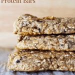 Soft n' Chewy Apple Cinnamon Protein Bars [gluten-free + high-fiber]