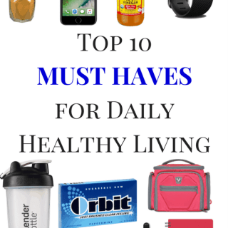 Top 10 MUST HAVES for Daily Healthy Living | Healthy Helper @Healthy_Helper My list of MUST HAVE products for health and happiness on a daily basis! Get some ideas on things you can carry in your bag to keep you on track and progressing towards your wellness goals.