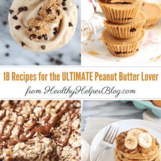 18 Recipes for the ULTIMATE Peanut Butter Lover | Healthy Helper @Healthy_Helper The ULTIMATE peanut butter lovers' recipe roundup! All the sweet (and savory) peanut butter-filled recipes you could ask for, all in one place. A post perfect for celebrating National Peanut Month all year long!