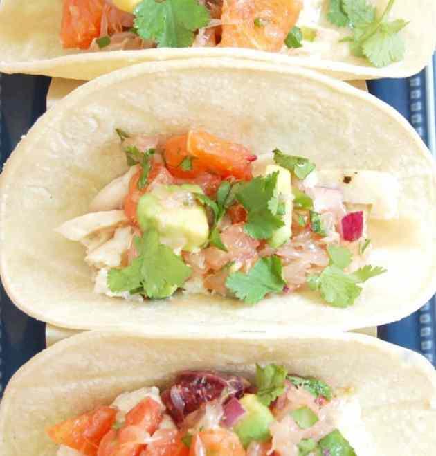 Fish Tacos with Citrus Salsa | Healthy Helper @Healthy_Helper