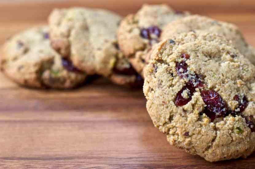 Pistachio Cranberry Almond Flour Cookies   Healthy Helper @Healthy_Helper