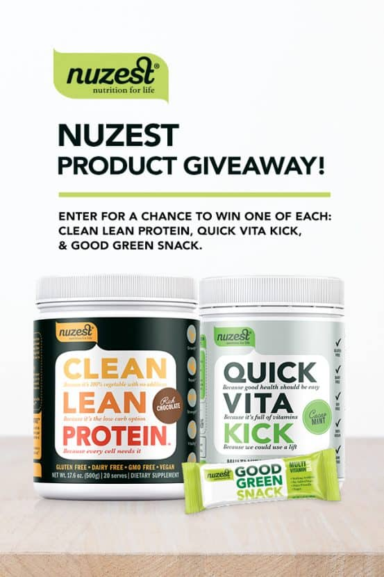 NUZEST Giveaway | Healthy Helper @Healthy_Helper