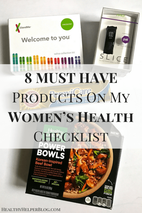 8 MUST HAVE Products On My Women's Health Checklist   Healthy Helper @Healthy_Helper A list of my MUST HAVE products for keeping my personal health in check! Women are unique. We have specific needs, and these products are specifically curated for your health and wellness goals.