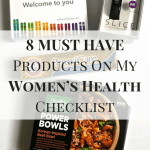 8 MUST HAVE Products On My Women's Health Checklist
