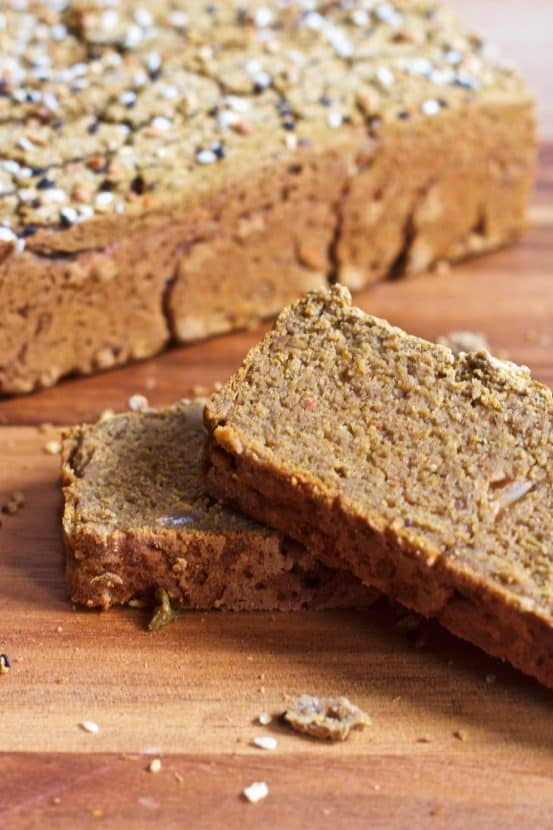 Savory Banana Flour Breakfast Bread | Healthy Helper @Healthy_Helper