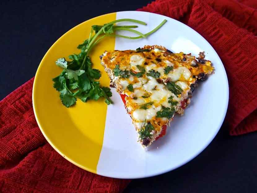 Cheesy Mexican Frittata | Healthy Helper @Healthy_Helper