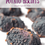 Purple Sweet Potato Biscuits [vegan + gluten-free]