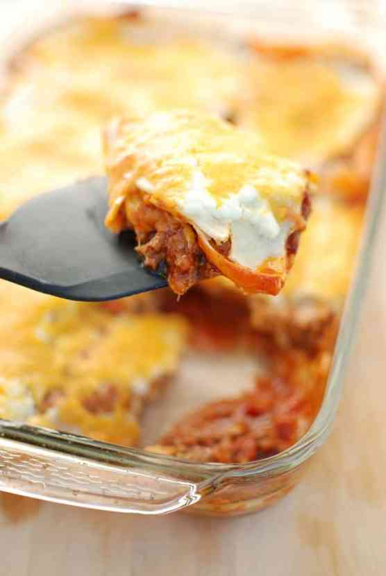 Healthy Texas Lasagna | Healthy Helper @Healthy_Helper