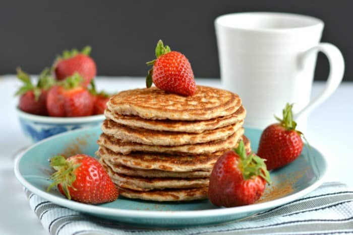 Gluten-Free Cottage Cheese Pancakes | Healthy Helper @Healthy_Helper