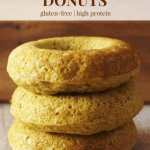 Sweet Golden Milk Donuts [gluten-free + high protein]