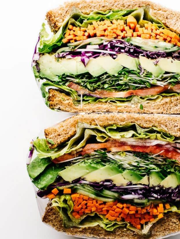The Ultimate Veggie Sandwich | Healthy Helper @Healthy_Helper