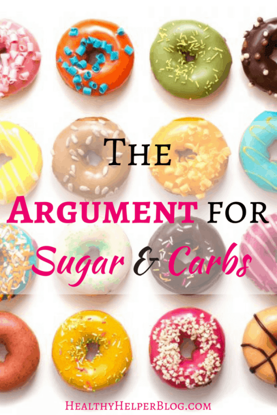 The Argument for Sugar and Carbs | Healthy Helper @Healthy_Helper A discussion on why sugar and carbs aren't the DEMONS they've come to be known as in the world of food and healthy living.