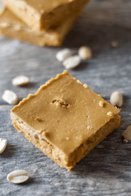 Peanut Butter & Jelly Protein Fudge | Healthy Helper @Healthy_Helper Soft, dense, peanut buttery fudge filled with the subtle sweetness of strawberry flavor. The classic combination of peanut butter and jelly comes together in this deliciously healthy protein fudge recipe! Vegan, gluten-free, grain-free, and only 3 ingredients!
