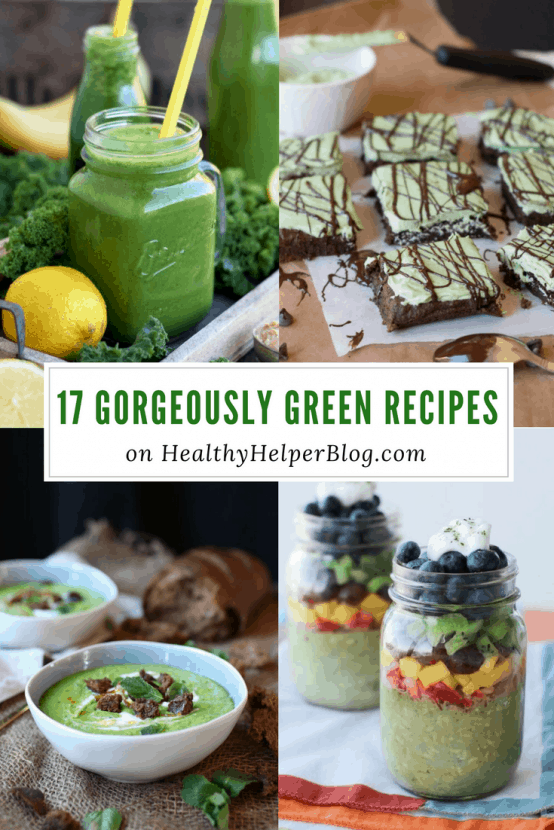 17 Gorgeously Green Recipes for St. Patrick's Day | Healthy Helper @Healthy_Helper A delectable roundup of gorgeously green recipes for St. Patrick's Day! Festive eats and treats for the luckiest day of the year!
