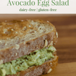 Avocado Egg Salad | Healthy Helper @Healthy_Helper Creamy, savory egg salad with the rich taste of avocado! Dairy-free, gluten-free, and full of healthy fats & protein. The perfect make ahead meal or snack to have all week-long!