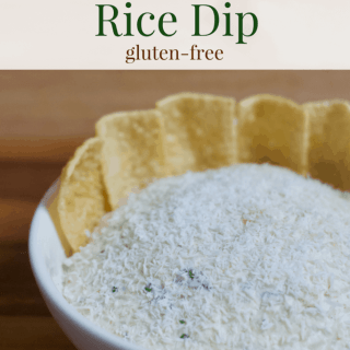 Thai Coconut Rice Dip | Healthy Helper @Healthy_Helper A fragrant and flavorful rice dip made with toasted coconut, rich sesame oil, green curry, and fresh spices. Savory, satisfying, and perfect for pairing with your favorite crudite or rice chips!