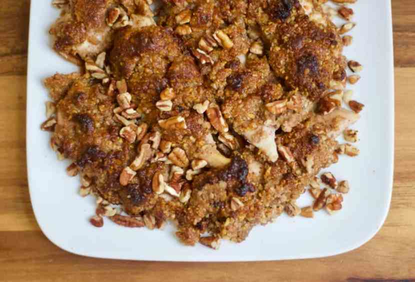 Honey Pecan Crusted Chicken | Healthy Helper @Healthy_Helper Fresh honey combines with nutty pecans and the crunchy cereal to create the ultimate coating for your favorite proteins! This Honey Pecan Crusted Chicken will be your new favorite way to prepare chicken breast. Sweet, savory, and totally delicious!