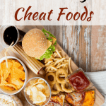 """10 HEALTHY Cheat Foods   Healthy Helper Cheat or """"treat"""" foods don't have to ruin your diet or healthy eating lifestyle! These simple food swaps & hacks will allow you to enjoy all the flavor of your favorite snack foods with more nutritional benefits in each bite."""
