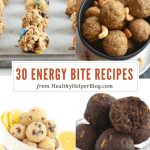 30 Energy Bite Recipes You Need to Make TODAY
