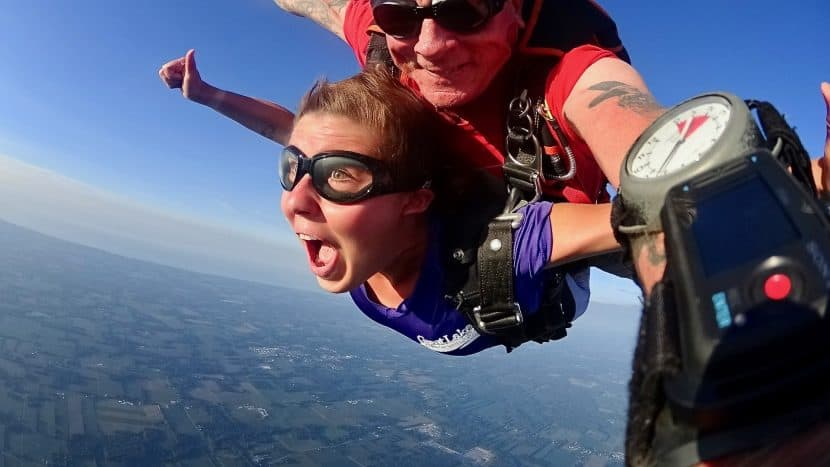 """Skydiving 101: My First Jump 