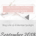 Healthy Living Community Link-Up #4