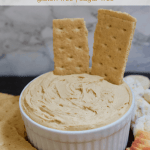 Low-Fat Vegan Peanut Butter Cream Cheese   Healthy Helper A simple, delicious recipe for peanut butter-flavored cream cheese. Two ingredients, incredibly easy to make, and perfect for rounding out a dessert table with fun dippers like fruit or pretzels!