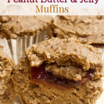 Low-Fat Peanut Butter and Jelly Muffins [vegan + gluten-free]