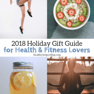2018 Holiday Gift Guide for Health & Fitness Lovers | Healthy Helper An EPIC list of holiday gifts for the health and fitness enthusiast in your life! Everything they could want and need to keep living healthy all year-long.