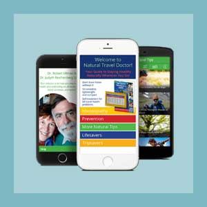 Natural Travel Doctor App: Google Android - Healthy