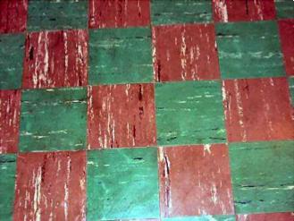 asbestos removal of 9x9 floor tiles