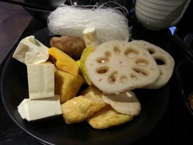 More tofu and root veggies