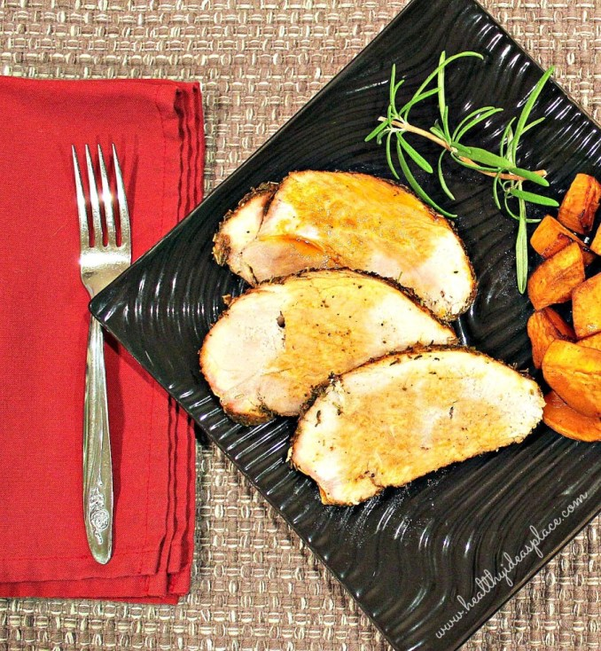 Herb Rubbed Pork Sirloin Roast - Healthy Ideas Place