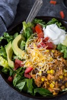 Easy Instant Pot Chicken Burrito Bowl