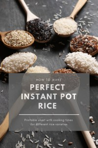 How to Make Perfect Instant Pot Rice