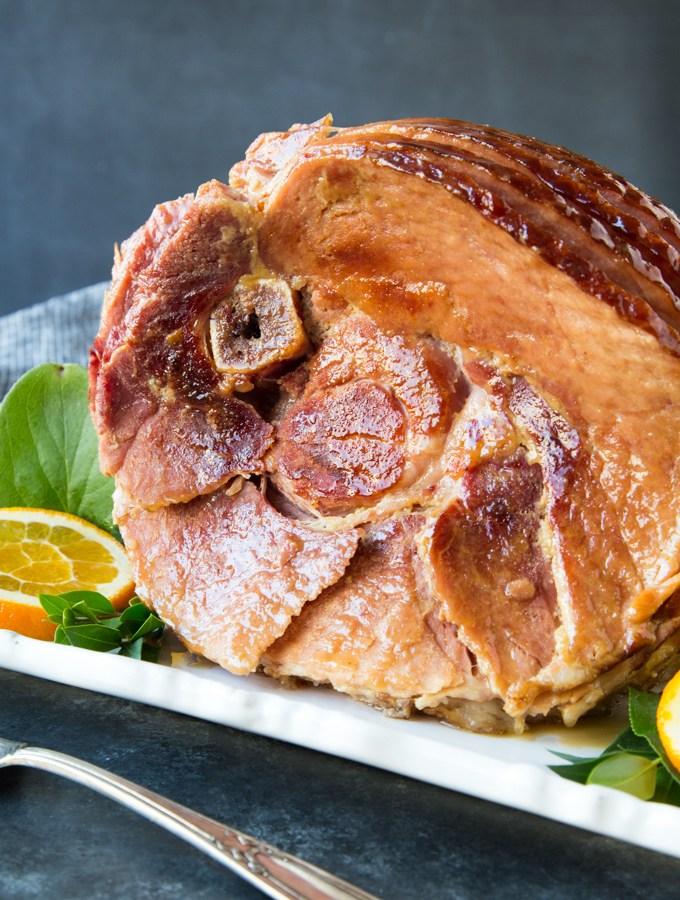 Instant Pot Glazed Spiral Ham
