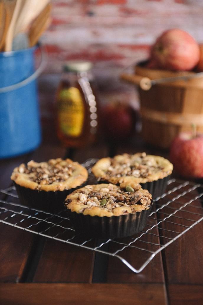 Enjoy Fall with Healthyish Apple Cake Combinations via HealthyishFoods.com