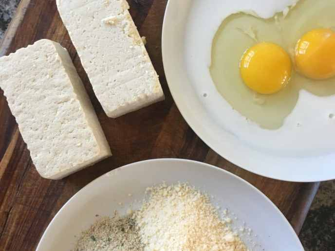 healthyish tofu parmesan