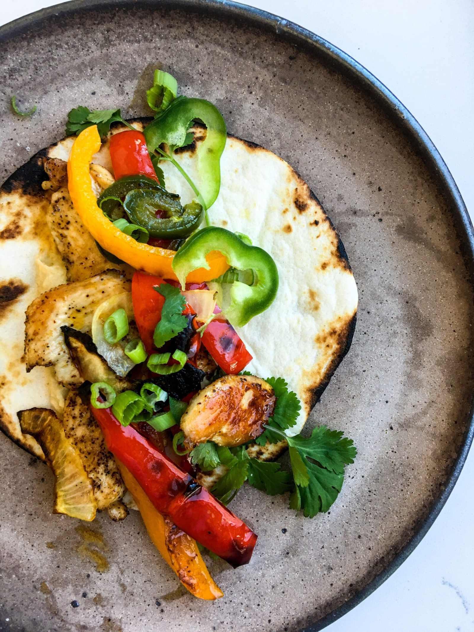 Healthyish Sheet Pan Chicken Fajitas, A Healthyish Brand Recipe