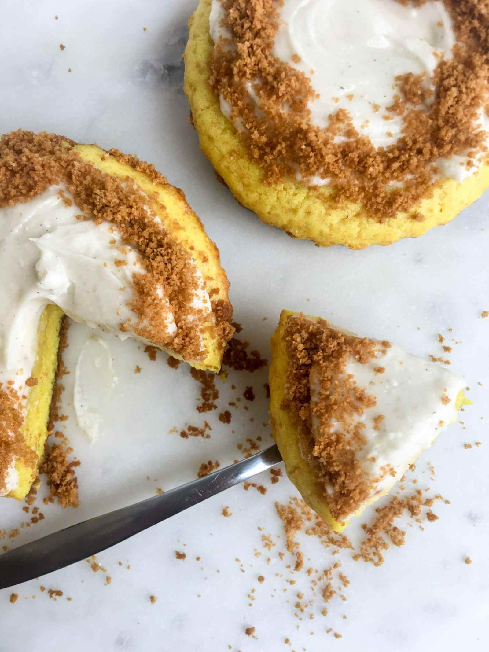 Healthyish Lemon Graham Cake, When Key Lime Pie and Lemon Loaf Cross Pollinate