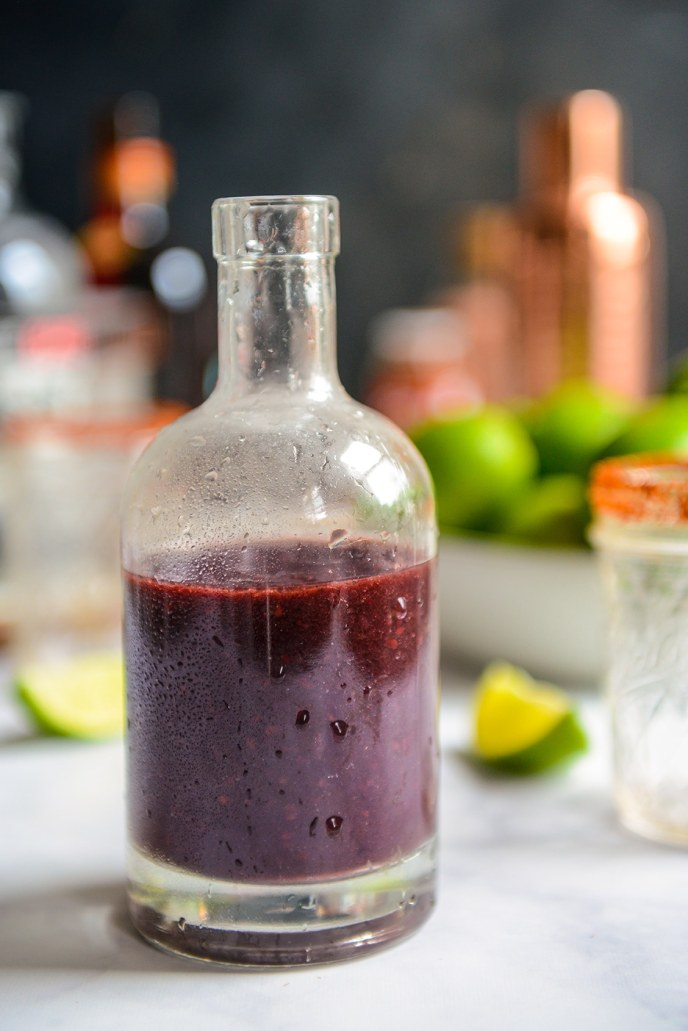 Blackberry Jalapeño Margaritas and Cakes for Healthyish Happy Hour // www.HealthyishFoods.com
