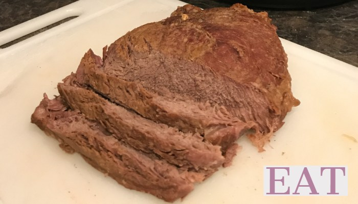 Frozen Roast in the Instant Pot